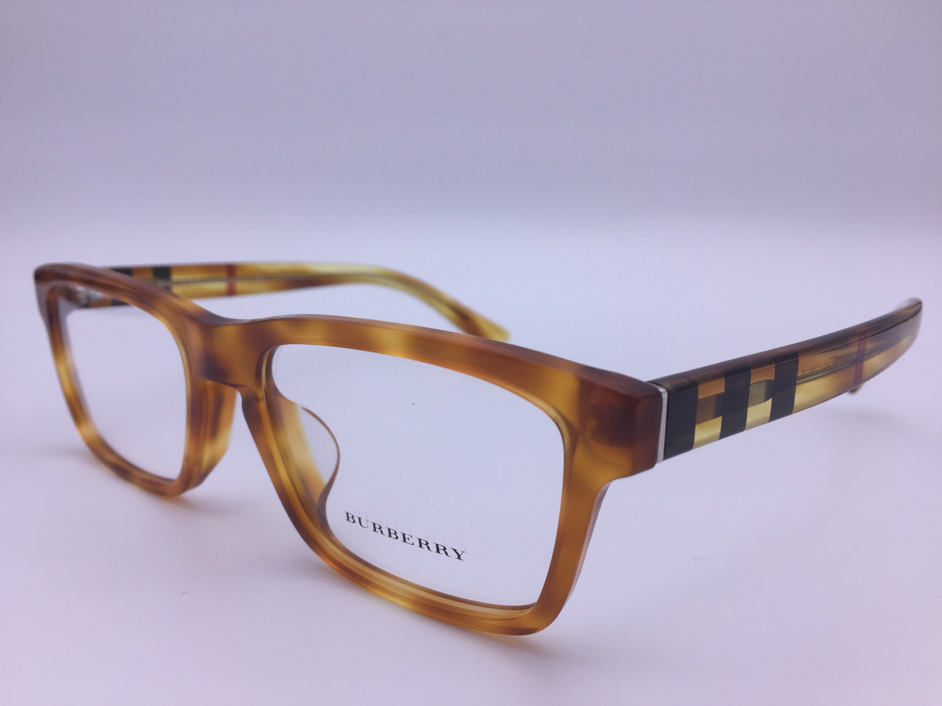 6099f7136c Burberry B 2226-F 3605 Orange Tortoise Plastic Eyeglasses 55mm ODU -  Walmart.com