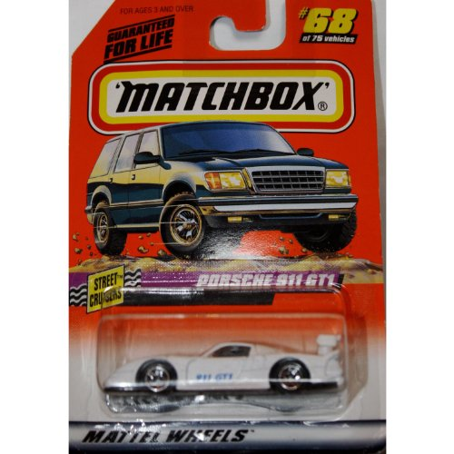 Porche 911 GT1 1998 Matchbox Street Cruisers Series #68 1:64 Scale Collectable Die Cast... by Mattel