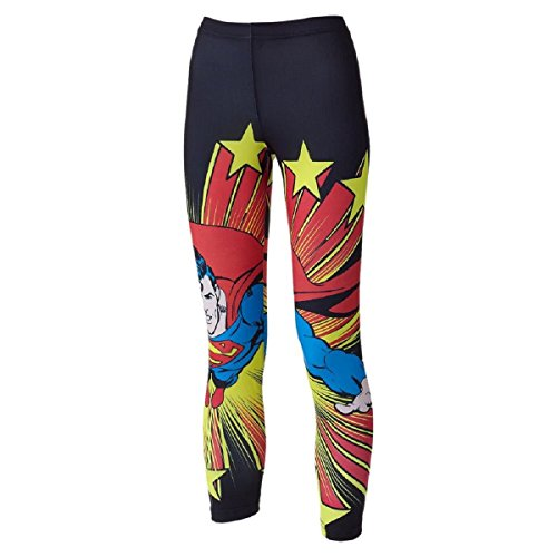 Superman Junior/Women's Printed Leggings - Small