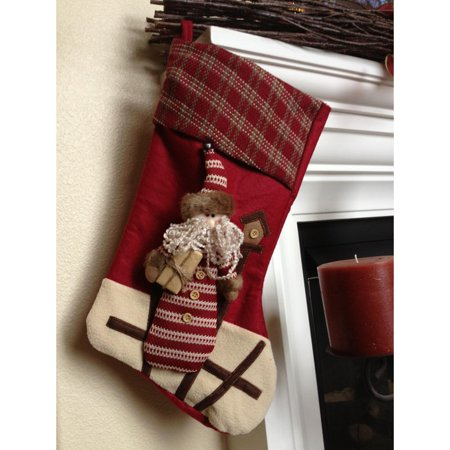 BEST BEDDING INC Santa With Gift Christmas