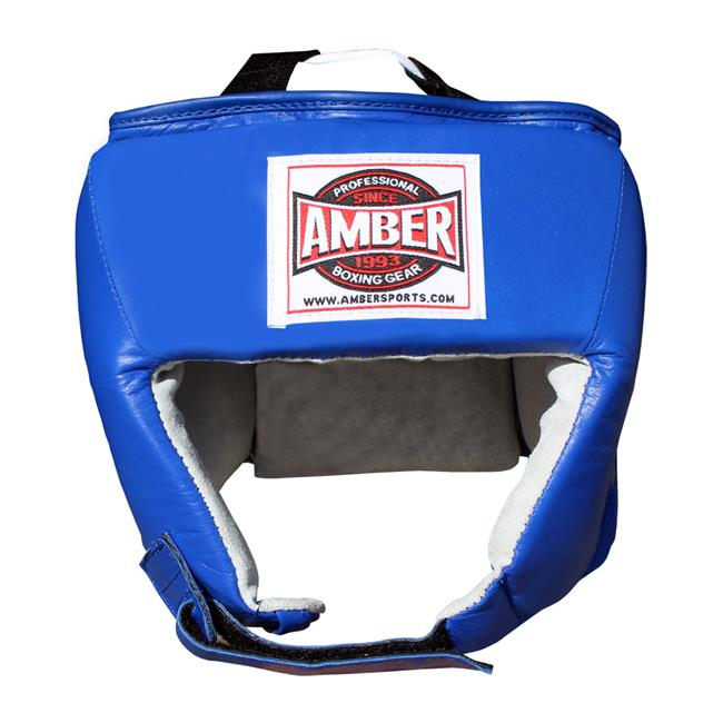 Amber Sports NCCHG-BL-S Blue Amateur Competition Headgear without Cheek Protectors, Small