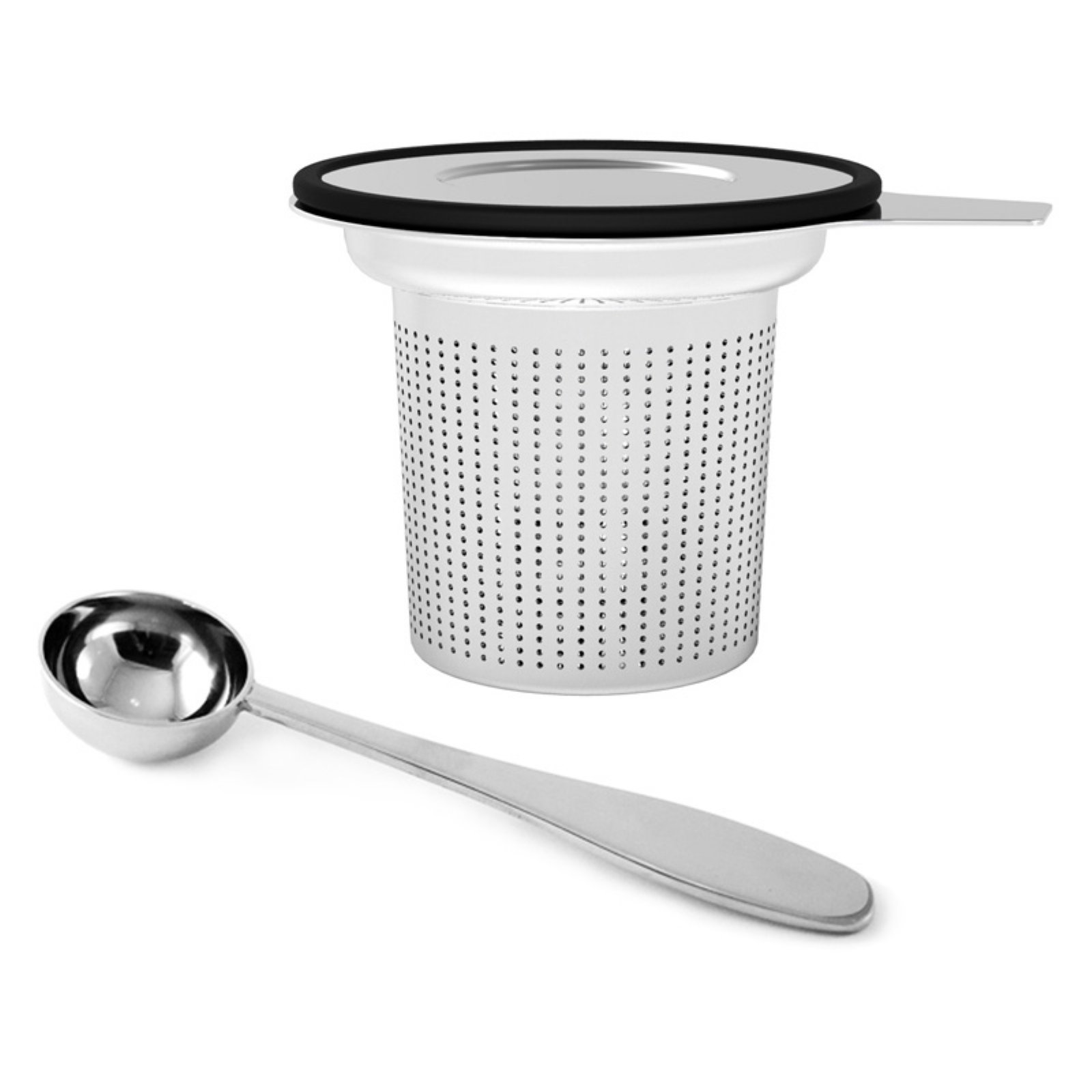 Mind Reader Stainless Steel Loose Leaf Tea Infuser with Lid