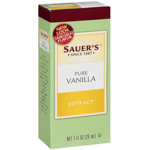 Sauer's: Pure Vanilla Extract, 1 Oz