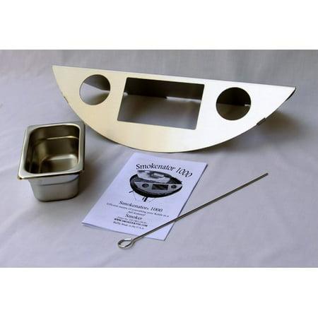 Smokenator 22'' Smoker Box Kit for Weber Charcoal (Charcoal Box)