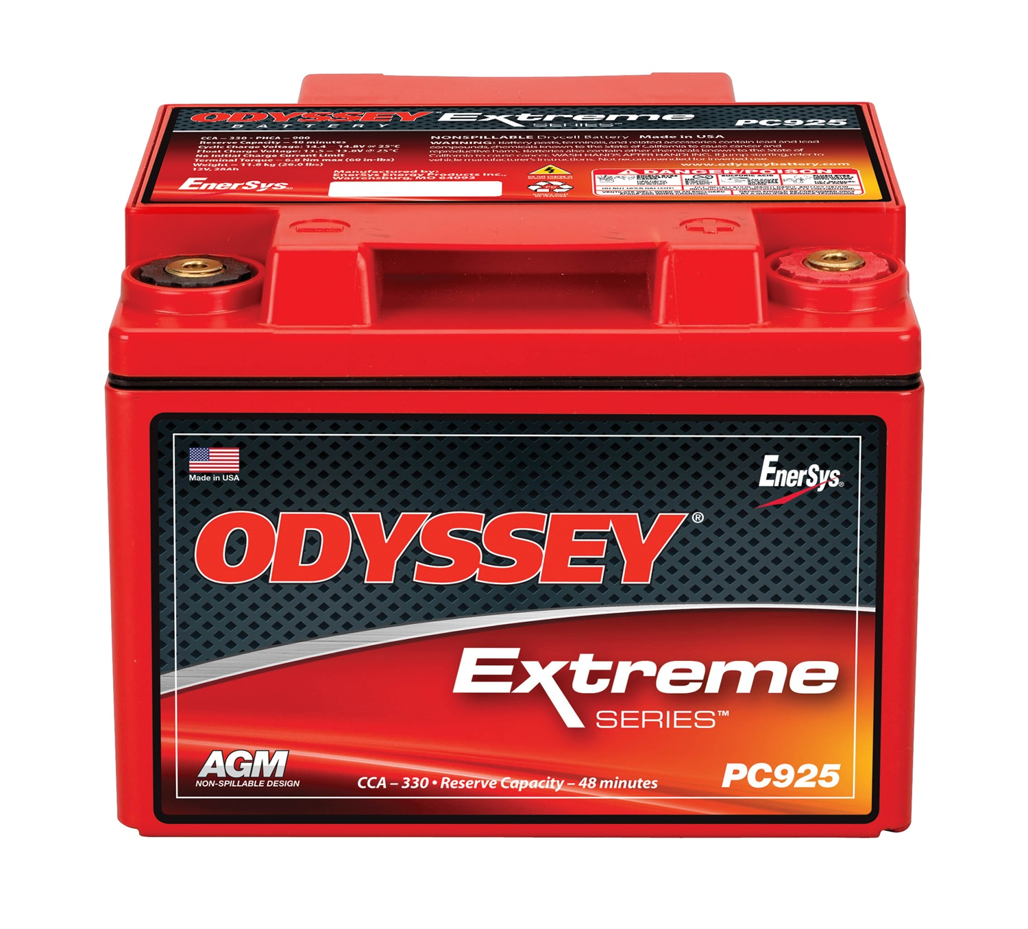 Odyssey Battery PC925MJ Automotive Battery