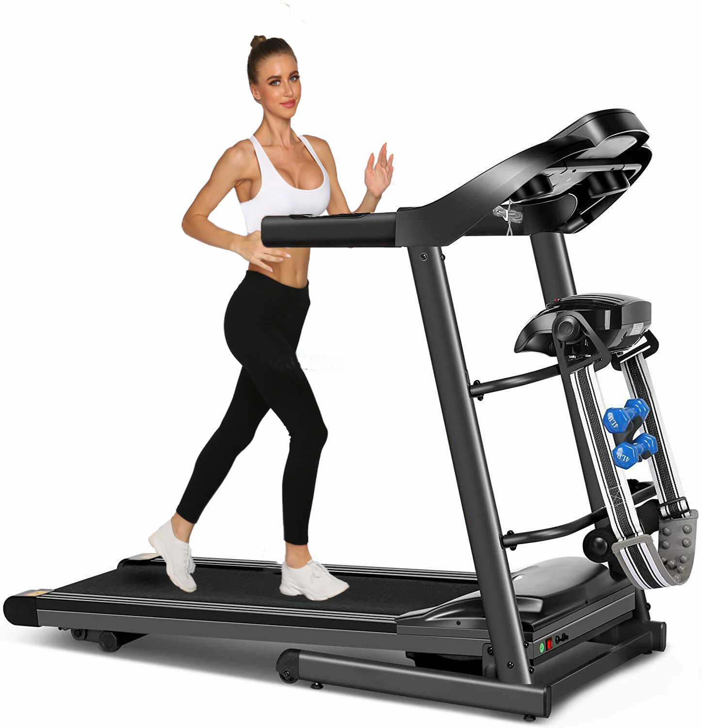 sytiry Multifunctional Treadmill Suitable for Home/Office/Gym ...