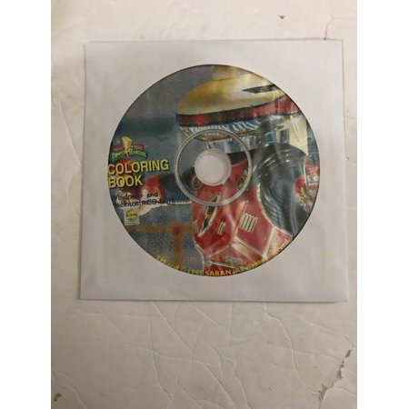 Coloring Book CD-ROM , Macintosh and Windows, Ships N 24h Only Disc