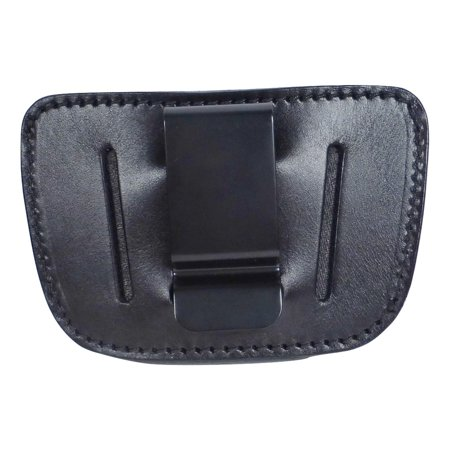 Universal IWB OWB Leather Holster for Glock 1911 Ruger S&W Taurus Sig (Sig Sauer 1911 Stainless With Crimson Trace)