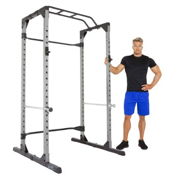 Progear 1600 Ultra Strength 800lb Weight Capacity Power Rack Cage