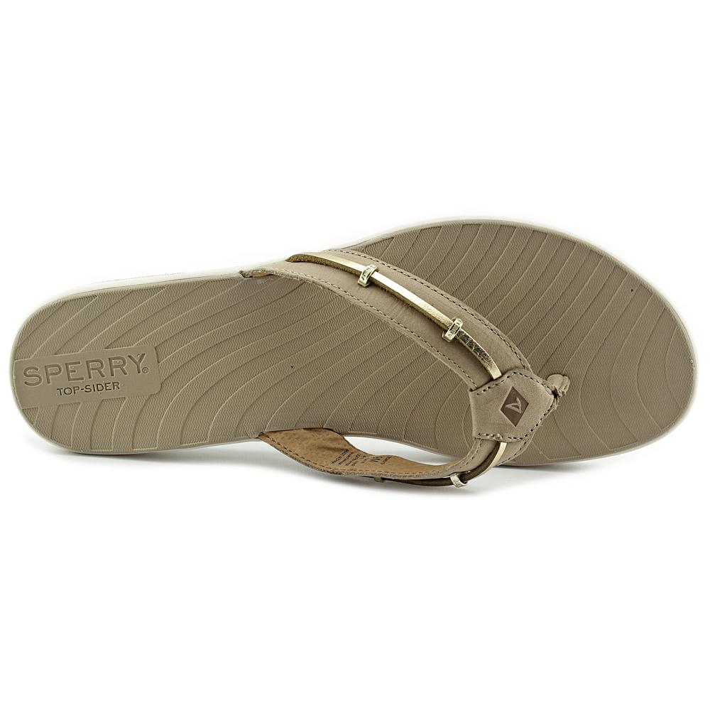 4399fc308e5856 Sperry Top Sider - Sperry Top Sider Seabrook Surf Women Open Toe Leather  Tan Thong Sandal - Walmart.com