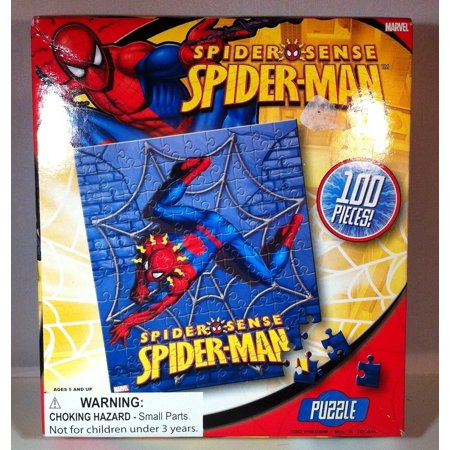 Spiderman   Spider Sense 100 Piece Puzzle  Usa  Brand Best Brands Consumer Products  Inc