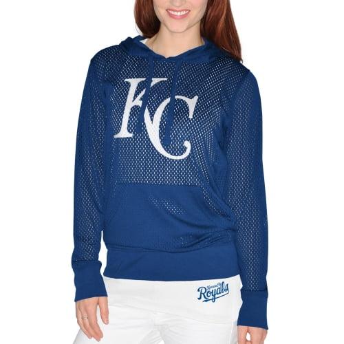 Kansas City Royals G-III Sports by Carl Banks Women's Kickoff Pullover Hoodie and Tank Top - Royal