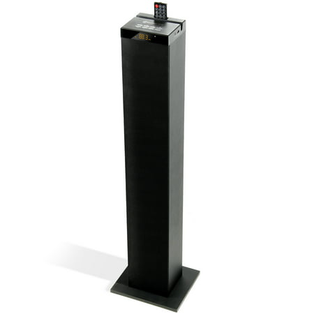 GOgroove BlueSYNC STW Bluetooth Tower Floor Standing Speaker with Integrated Subwoofer (2.1 Channel) High End Floor Standing Speaker