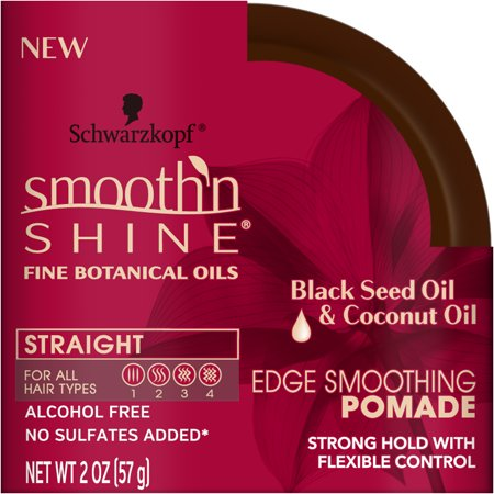 Smooth Shine Pomade (Smooth 'n Shine Straight Edge Smoothing Pomade, 2 Ounce)