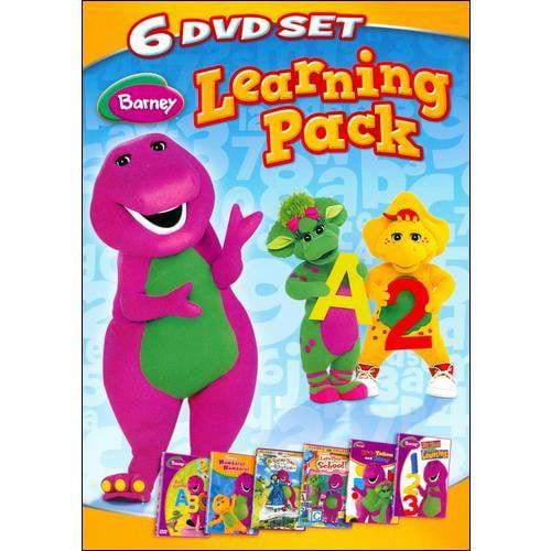 Barney: Learning Pack (6-Disc Set) (Full Frame)