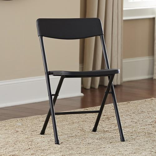 Cosco Resin Folding Chairs (Pack of 4) White