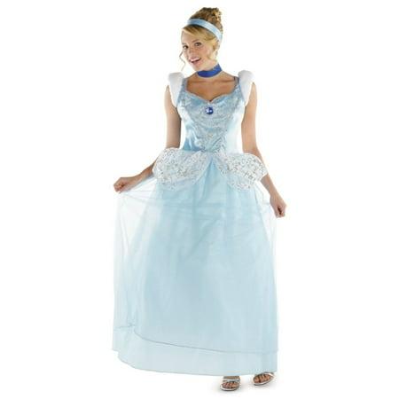 Cinderella Plus size Disney Women Costume deluxe - Disney Costumes Plus Size