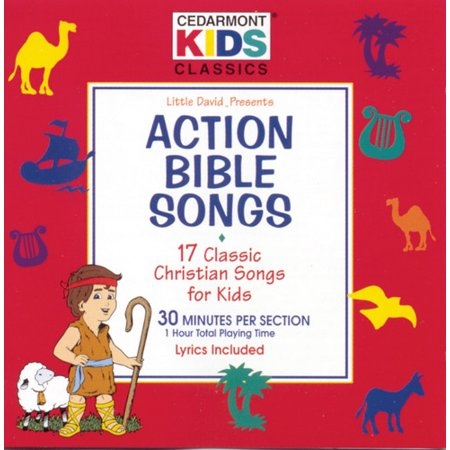 Cedarmont Kids - Action Bible Songs (CD) (Super Simple Songs Halloween Cd)