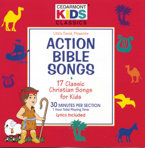 Cedarmont Kids - Action Bible Songs (CD)