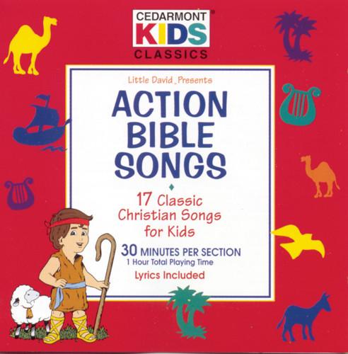 Cedarmont Kids - Action Bible Songs (CD)