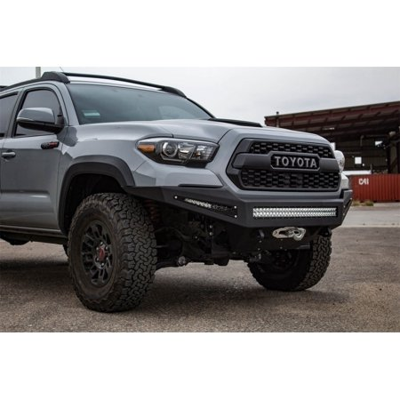 Toyota Tacoma Front Bumper >> Addictive Desert Designs 16 18 Toyota Tacoma Honeybadger Front