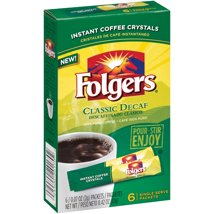 Coffee: Folgers Instant Coffee Packets