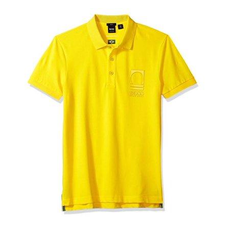 7021b8b5 HUGO BOSS - Hugo Boss BOSS Orange Men's World Cup Soccer Country Polo Shirt,  Brazil, Small - Walmart.com