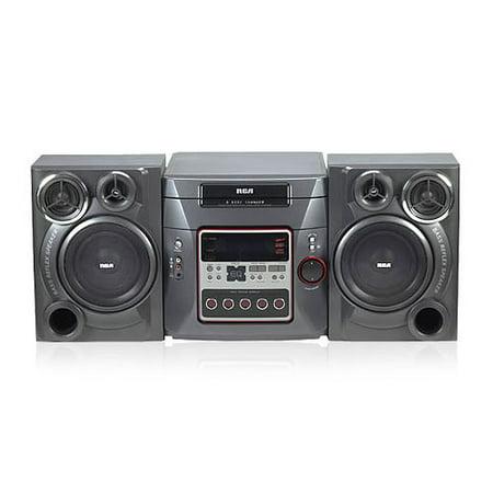 RCA 5 CD MP3 Bookshelf Stereo System RS2652