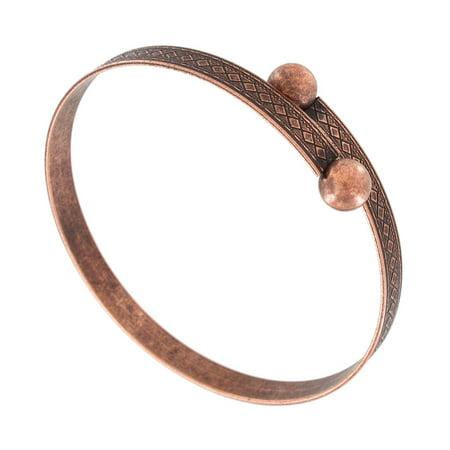 Wesley Copper Ox Tone Wrap Bangle Bracelet Copper Wrap Bracelet