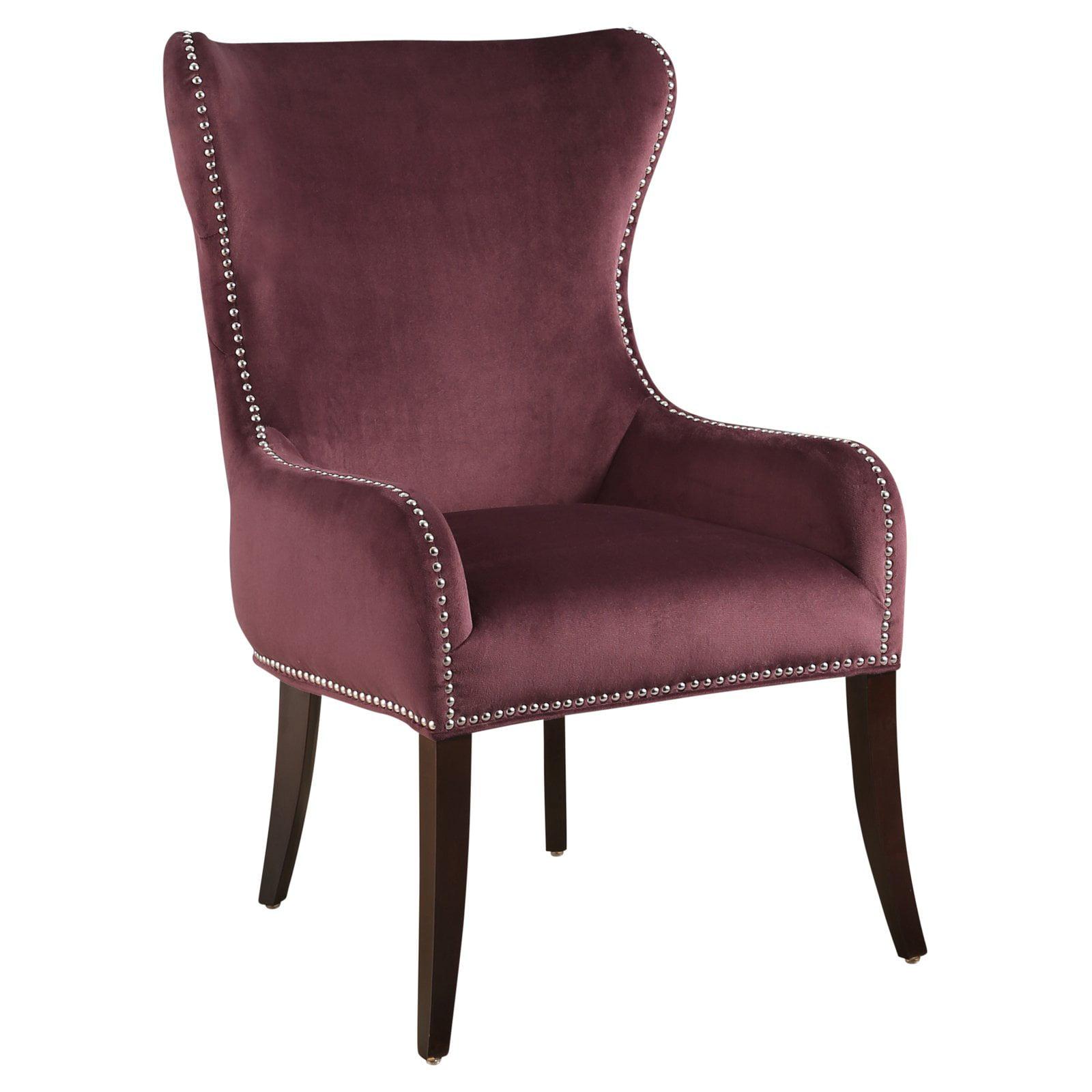 Abbyson Hillary Tufted Velvet Chair