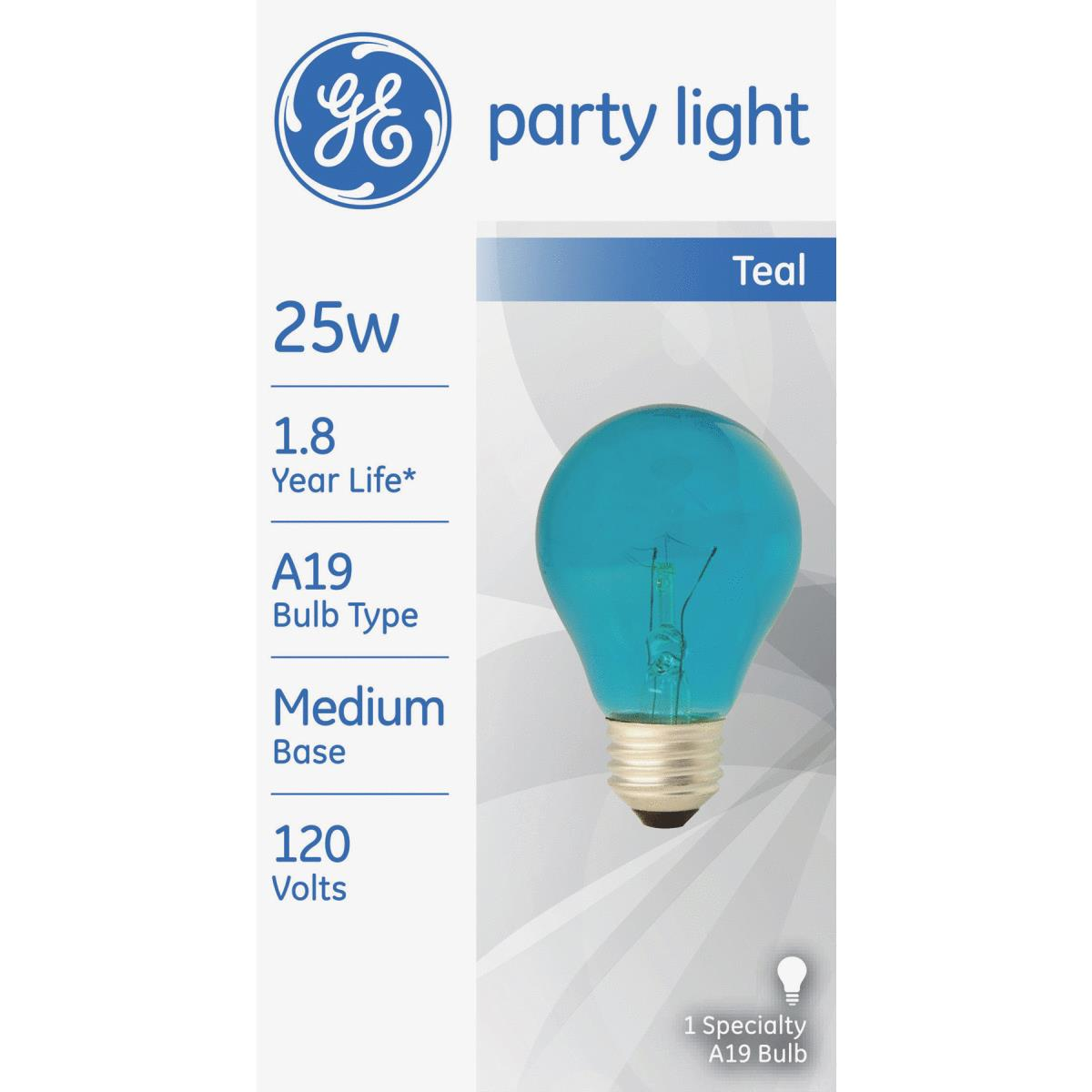 GE A19 Decorative Party Light Bulb