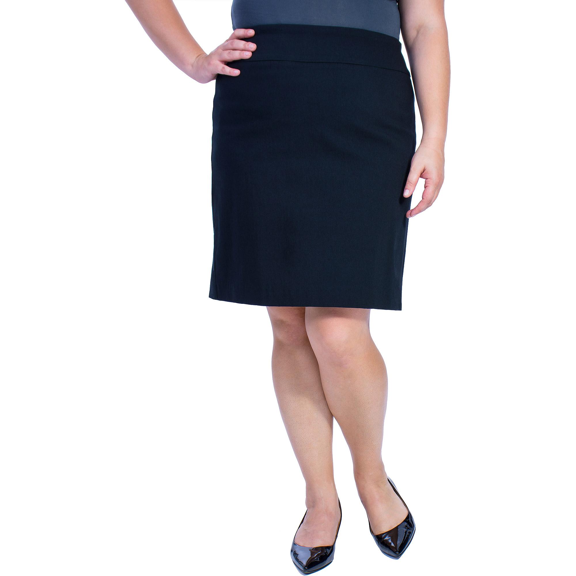 George Women's Plus-Size Millennium Suiting Skirt