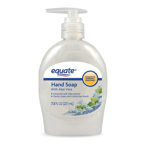 Equate Hand Soap with Aloe Vera, 7.5 oz