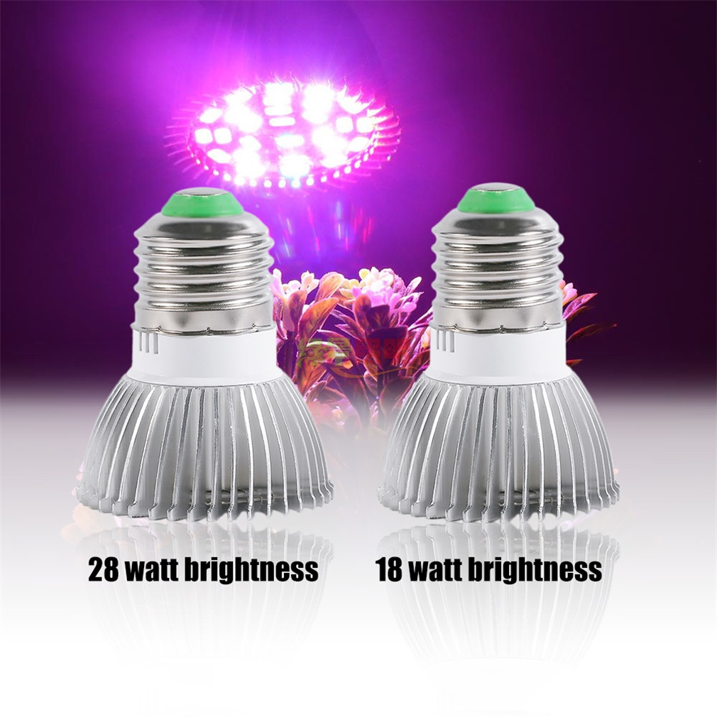 Full Spectrum E27 LED Grow Light Growing Lamp Light Bulb For Flower Plant