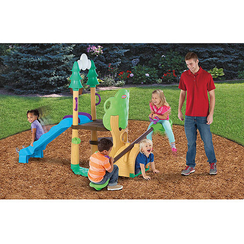 Little Tikes 1, 2, 3 Climber, Teeter Totter & Slide