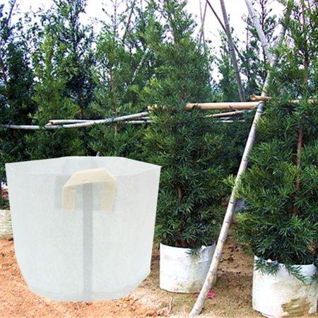 5 Packs Fabric Grow Bags 5/15/50/80 Gallon Plant Pots Aeration Fabric Pots...