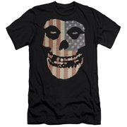 Misfits Fiend Flag Mens Slim Fit Shirt