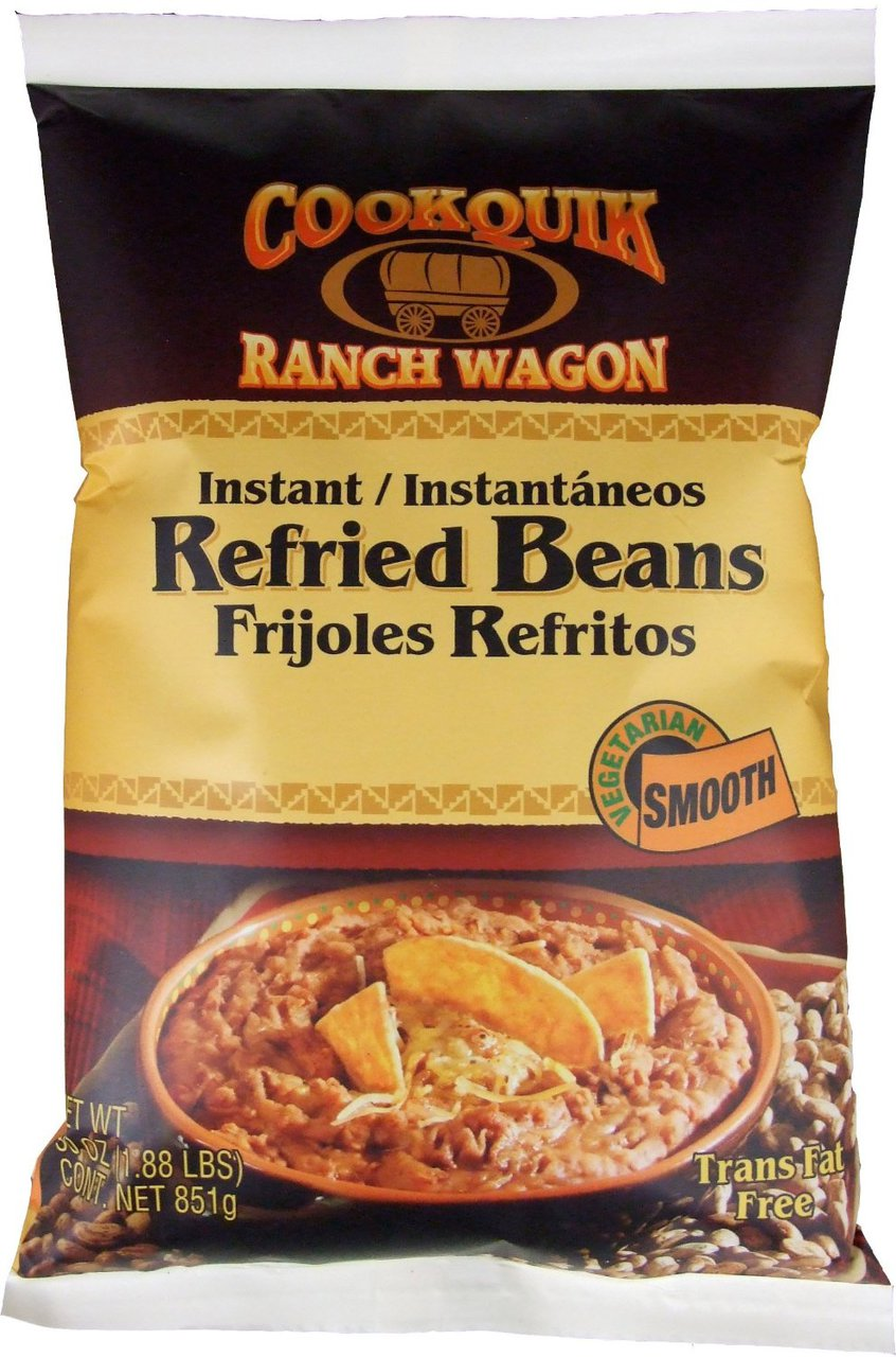 6 PACKS : Trinidad Cookquik Dehydrated Refried Pinto Smooth 30-Ounce Packages by