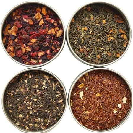 Heavenly Tea Leaves Flavored Tea Sampler, 4 - Flavored Wulong Leaf