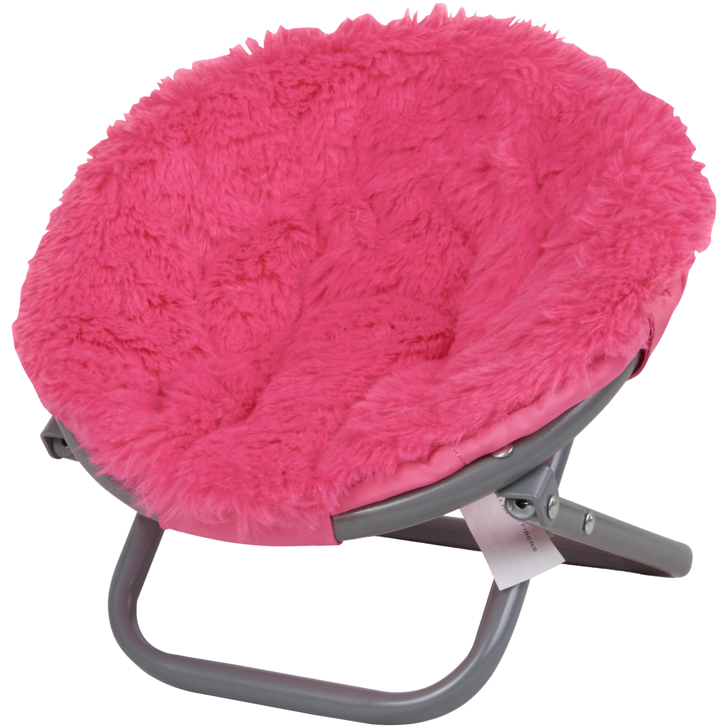"""My Life As Fluffy Saucer Chair, Pink, for 18"""" Dolls"""