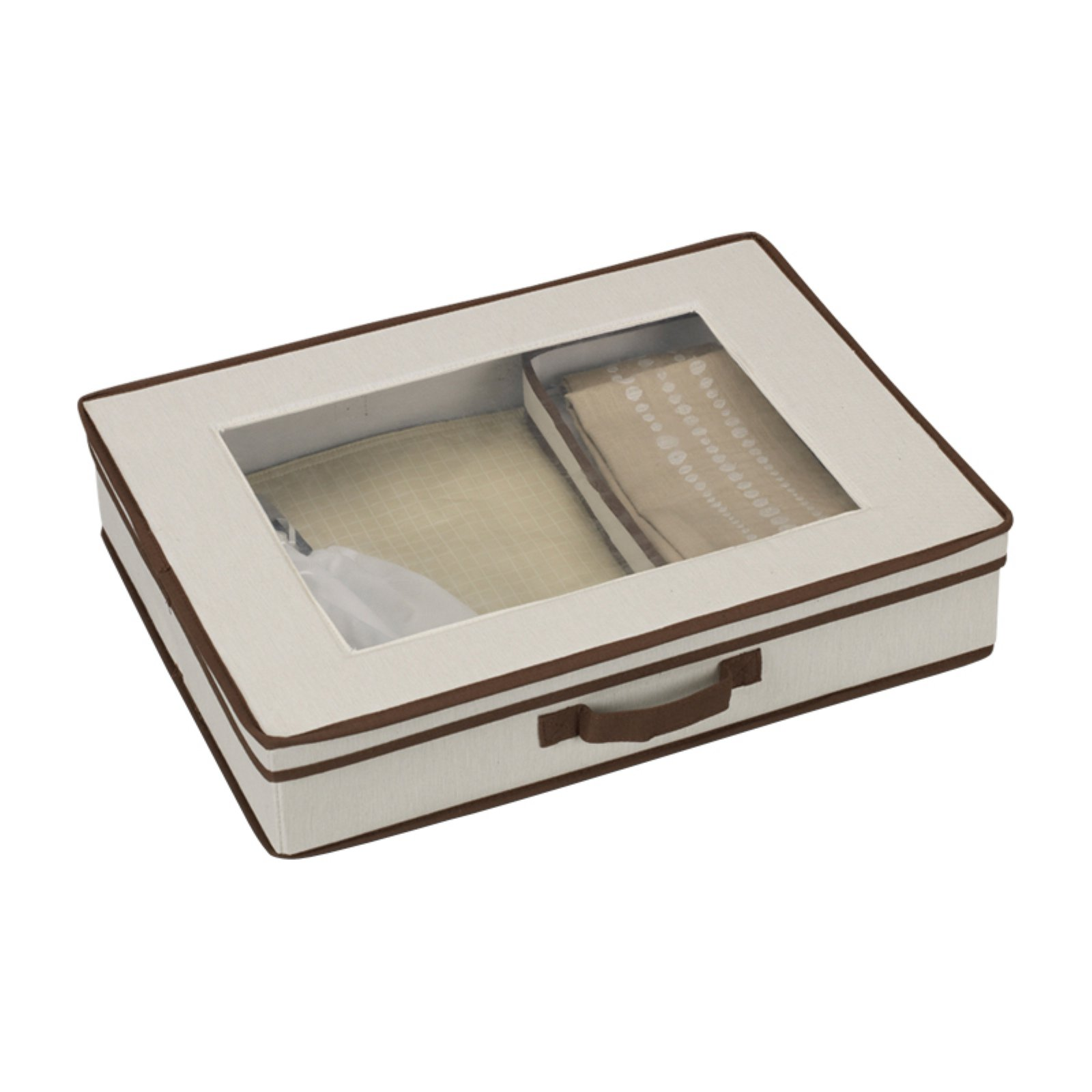 Household Essentials Window Vision Tabletop Set Chest