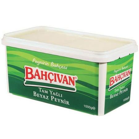 Bahçıvan Feta Whole Fat White Cheese - 2lb