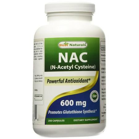 Best Naturals NAC 600 mg, 250 Ct