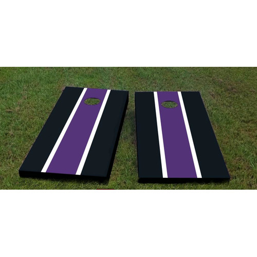 Custom Cornhole Boards Ravens Cornhole Game (Set of 2) by Custom Cornhole Boards