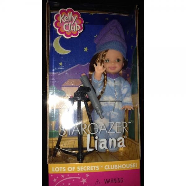 Barbie Kelly STARGAZER LIANA Doll Lots of Secrets Clubhouse! (2001) by Mattel by
