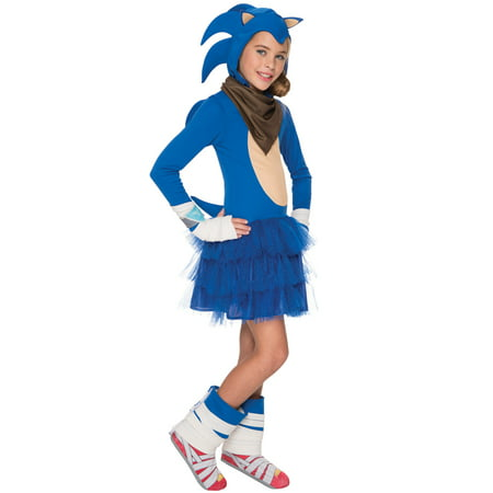 Sonic Boom Girl Child Costume - Sanic Costume