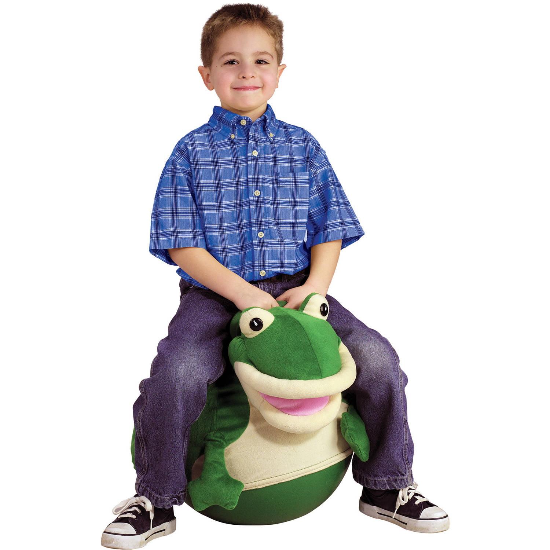 Hop-A-Long Frog Plush Hopper