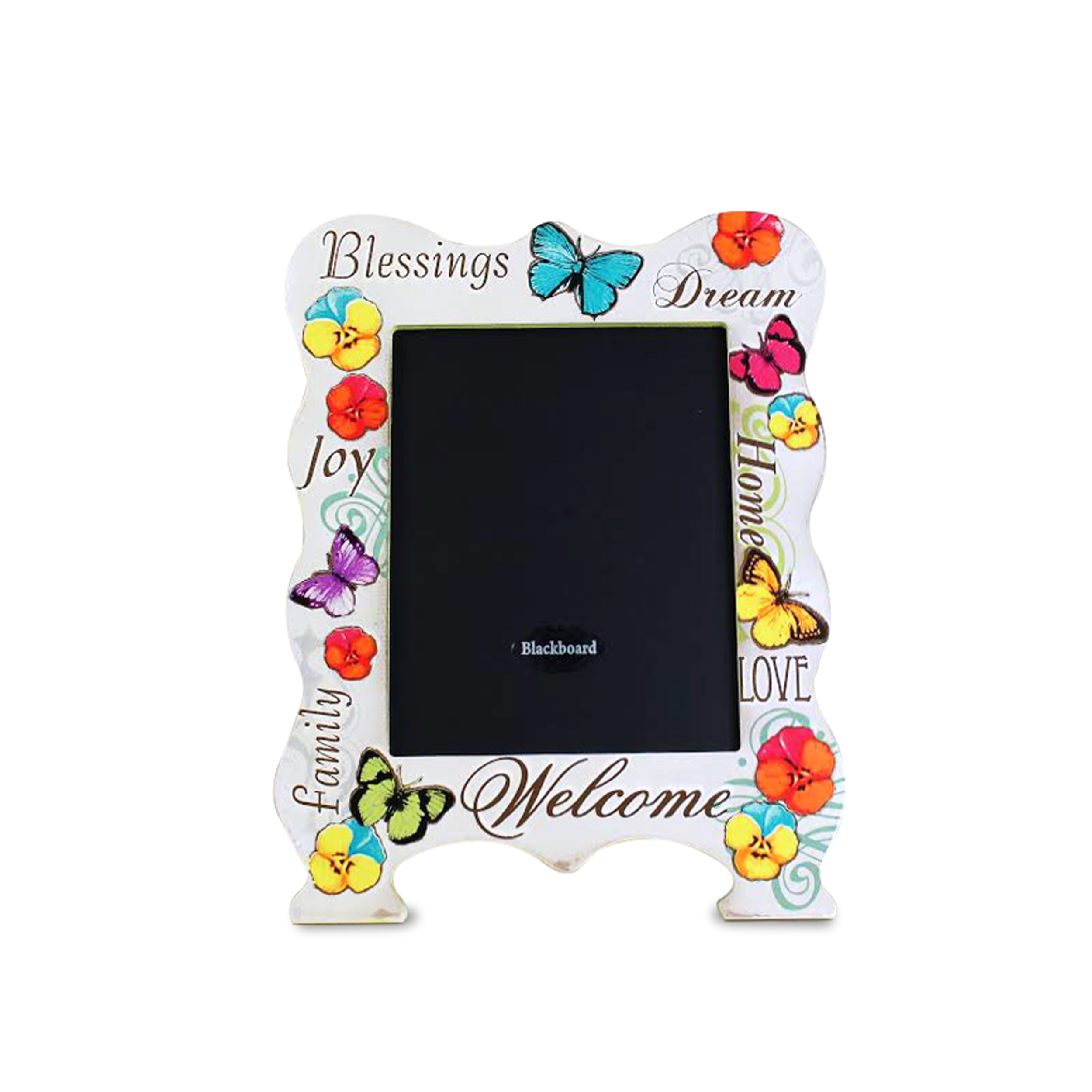 Standing Chalkboard Love and Family 5 x 7 Picture Frame Style