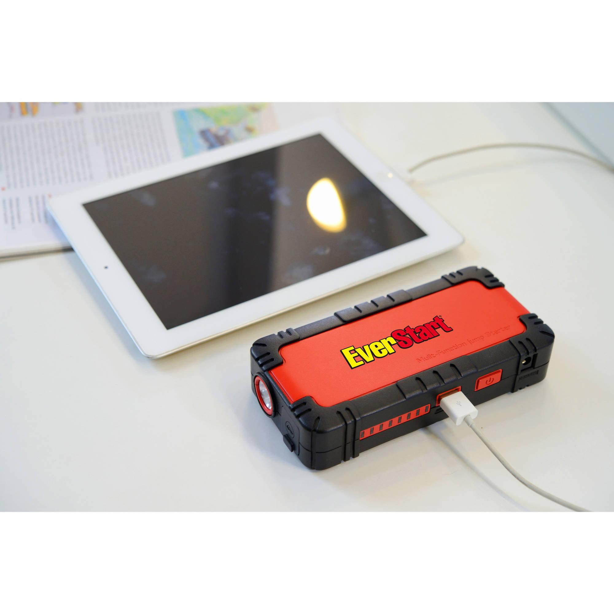 Everstart Multi-Function Jump Starter & Battery Charger ...