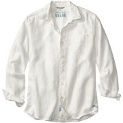 Tommy Bahama Sea Glass Breezer L/S Button Up White